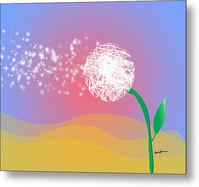 Make A Wish Metal Print by Anthony Caruso