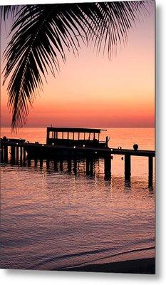 Maldives Sunrise Metal Print by Shirley Mitchell