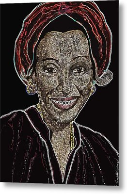 Mama Nura Metal Print by Duwayne Washington