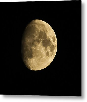 Man In The Moon Metal Print by Joshua Dwyer