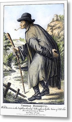 Man With Cane, C1795 Metal Print by Granger