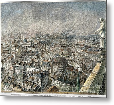 Manchester, England, 1876 Metal Print by Granger