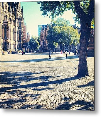 #manchester #manchesterpiccadilly Metal Print