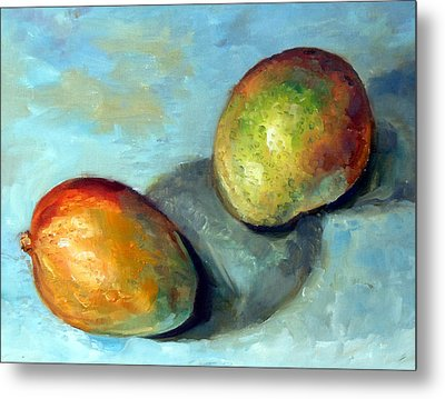 Mango's Metal Print by Mark Hartung