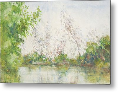 Mangrove Swamp Metal Print by Henry Scott Tuke