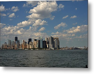 Metal Print featuring the photograph Manhattan by Diane Lent