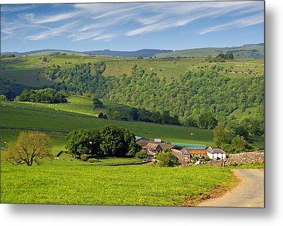 Metal Print featuring the photograph Manifold Valley - Staffordshire by Rod Jones