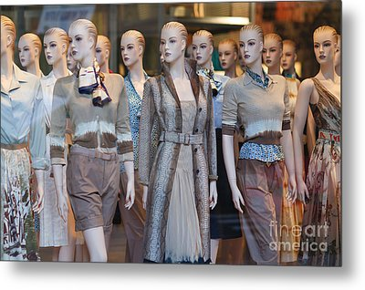 Mannequins I Metal Print by Clarence Holmes