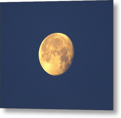 Metal Print featuring the photograph March Moon by Jeanne Andrews