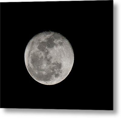 March Waning Moon Metal Print by Lara Ellis