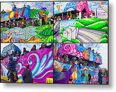 Mardi Gras Fun Metal Print by Steve Harrington
