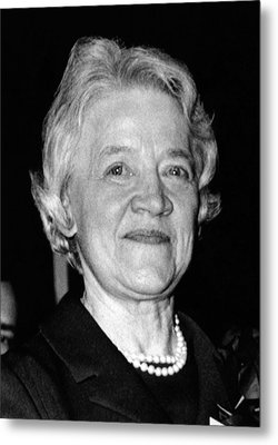 Margaret Chase Smith, 1897-1997 Metal Print by Everett