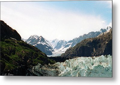 Margerie Glacier Metal Print by C Sitton