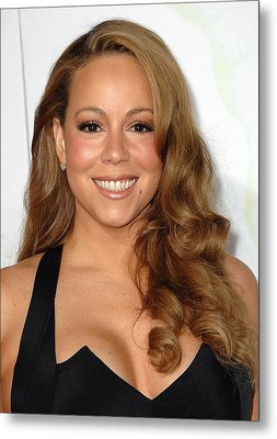 Mariah Carey At Arrivals For Afi Fest Metal Print by Everett