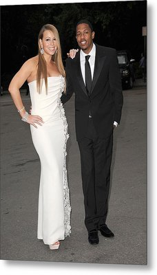 Mariah Carey Wearing A Georges Chakra Metal Print by Everett