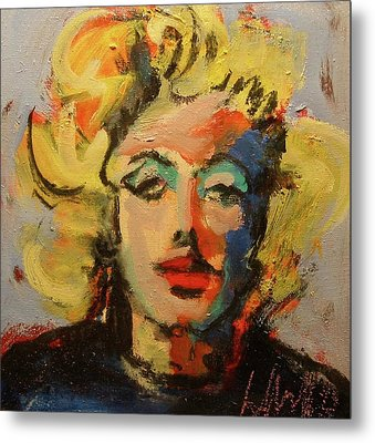 Marilyn Metal Print by Les Leffingwell