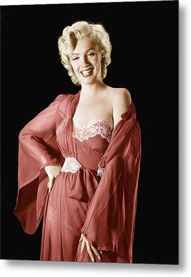 Marilyn Monroe, 1950s Metal Print by Everett