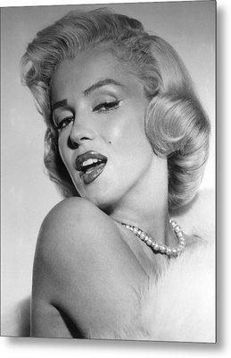 Marilyn Monroe, Ca. Mid 1950s Metal Print by Everett