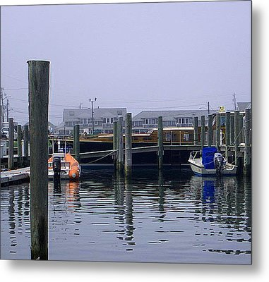 Metal Print featuring the photograph Watch Hill Marina by Joan Hartenstein