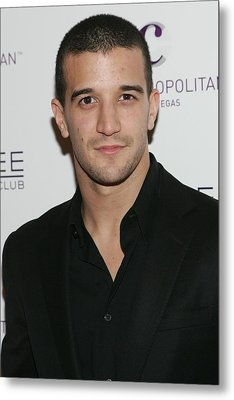Mark Ballas At Arrivals For Kim Metal Print by Everett