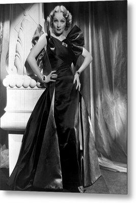 Marlene Dietrich Full Length Portrait Metal Print by Everett