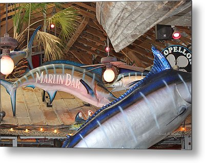 Marlin Bar Metal Print