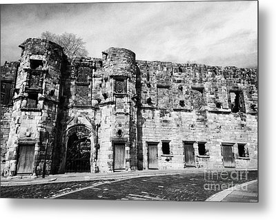 Mar's Wark In The Historic Old Town Of Stirling Scotland Uk Metal Print