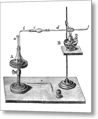 Marsh Test Apparatus, 1867 Metal Print