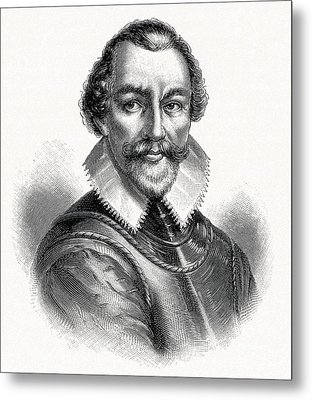 Martin Frobisher, English Explorer Metal Print by Cci Archives