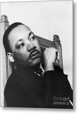 Martin Luther King, Jr Metal Print