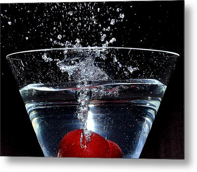 Martini Metal Print by Carlos Nass