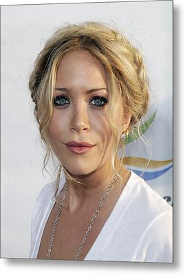 Mary-kate Olsen At Arrivals For Weeds Metal Print by Everett