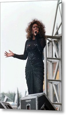 Mary Wilson Metal Print by Mike Martin