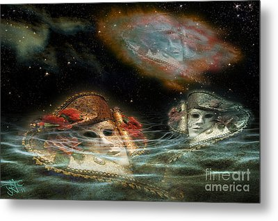 Mask Nebulae Metal Print