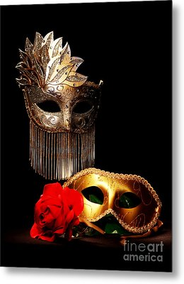 Masquerade Metal Print by Gary Scott