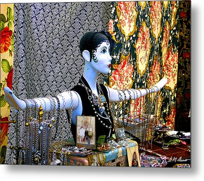 Material Girl Metal Print by Michael Durst
