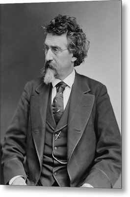 Mathew B. Brady 1823-1896, Prominent Metal Print by Everett