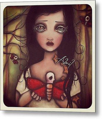 Matilda - #abrilandrade Metal Print