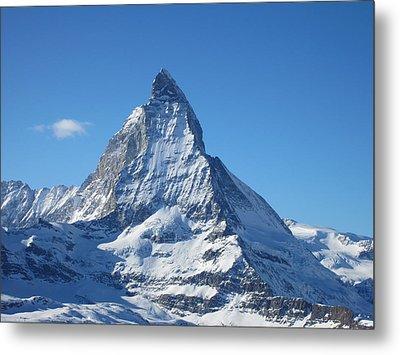 Matterhorn Metal Print by Dion Halliday