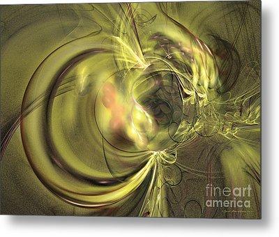 Maturation - Abstract Art Metal Print