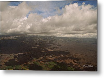 Maui Beneath The Clouds Metal Print by Paulette B Wright
