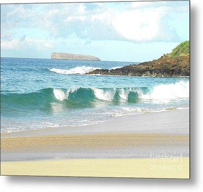 Maui Hawaii Beach Metal Print by Rebecca Margraf