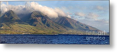 Maui Pano Metal Print by Scott Pellegrin