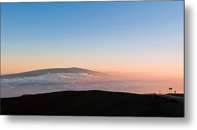 Mauna Loa Sunset Metal Print
