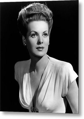 Maureen Ohara, 21746 Metal Print by Everett