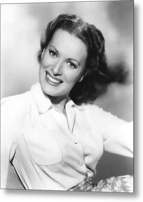Maureen Ohara, Paramount Pictures, 1950 Metal Print by Everett
