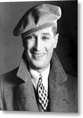 Maurice Chevalier, Ca. 1930 Metal Print by Everett