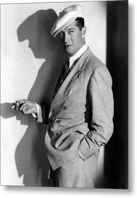 Maurice Chevalier, Ca. 1930s Metal Print by Everett