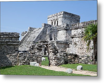 Mayan Ruins Metal Print by Monica and Michael Sweet