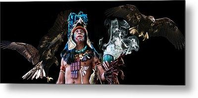 Mayan Spirit Metal Print by Elizabeth Hart
